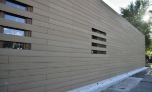 Panneaux décoratifs extérieurs